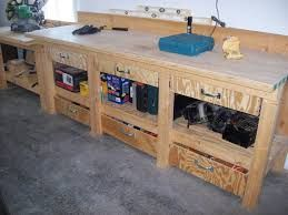 Delightful Image Result For Wood Shop Workbench With Drawers