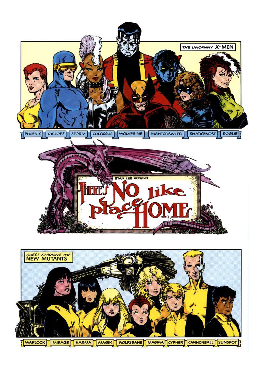 Travisellisor The Uncanny X Men Annual 9 Title Page By Arthur Adams Petra Scotese And Tom Orzechowski The Uncanny X Men Comic Book Artwork