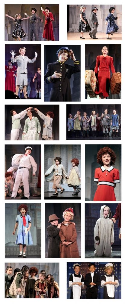 Annie Youth Costumes For Rent 1365088417 Jpg 414 1000 Bundles And Cops Annie Costume Broadway Costumes Annie Musical