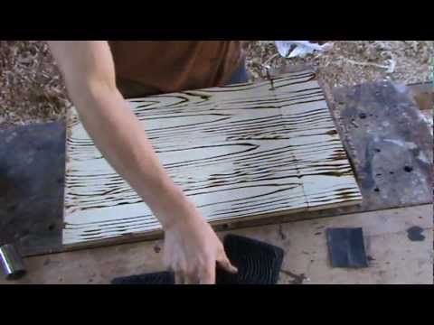 Como pintar una imitacion de vetas de madera tipos de - Como pintar madera ...