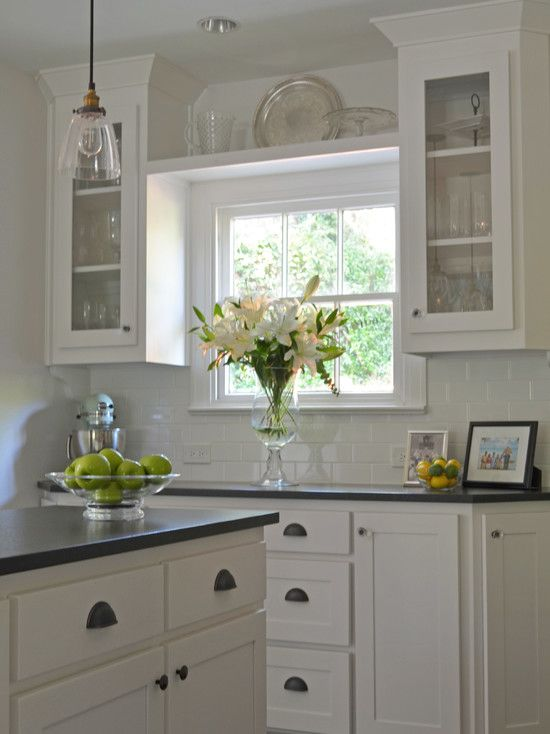 Amusing Traditional Kitchen Kitchen Wall Shelving Ideas Above The Window Between The Cabinets A Kitchen Window Shelves Kitchen Sink Window Kitchen Wall Shelves