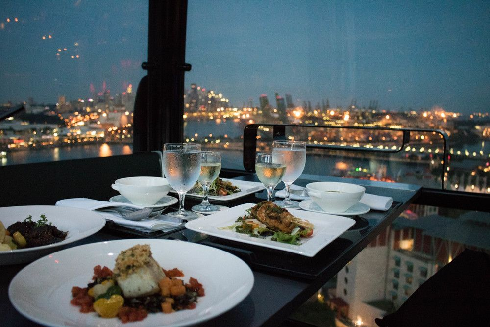 Cable cuisine Cable Car Sky Dining, Singapore Who said