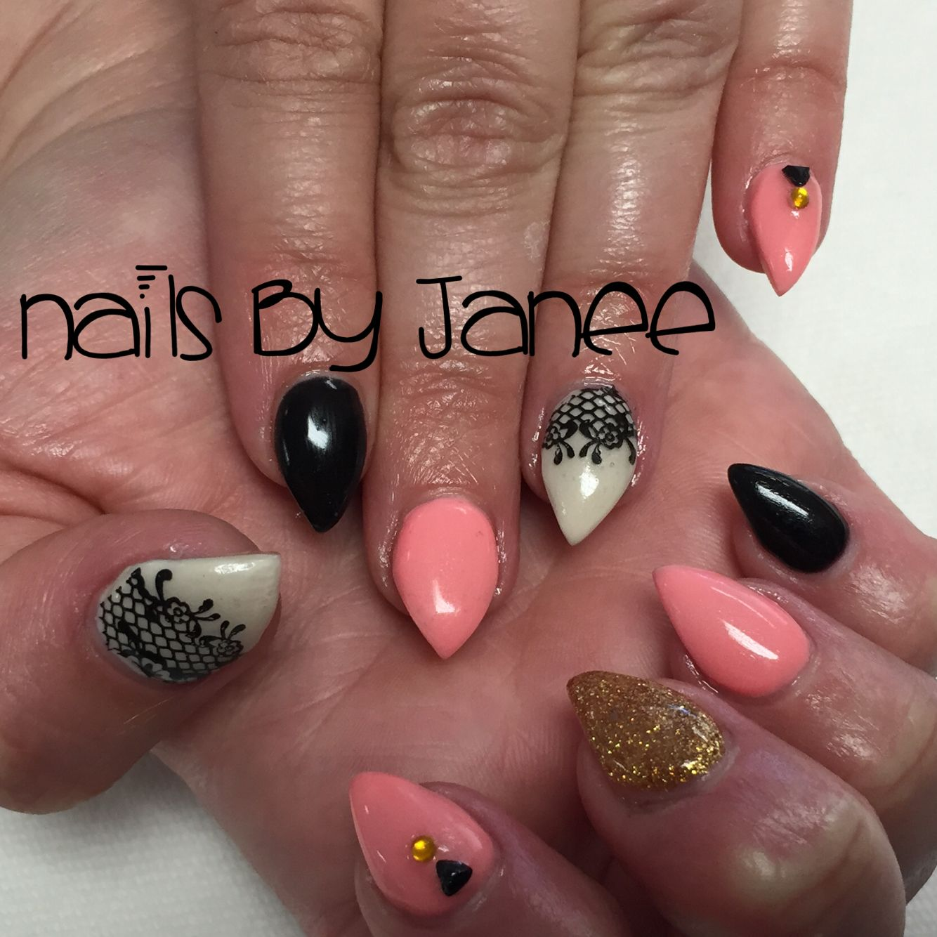 Gel nails by Janee. A Wild Hair Salon, Reno Nevada | Nails by Janee ...