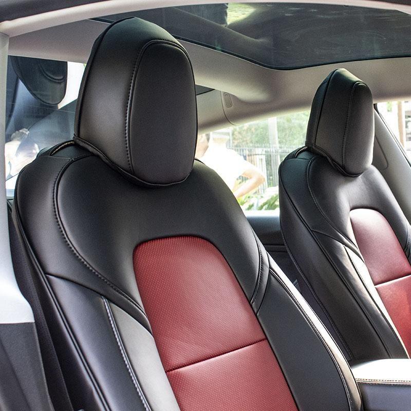 tesla model 3 leather seat covers tesla interiors taptes tesla model tesla tesla interior