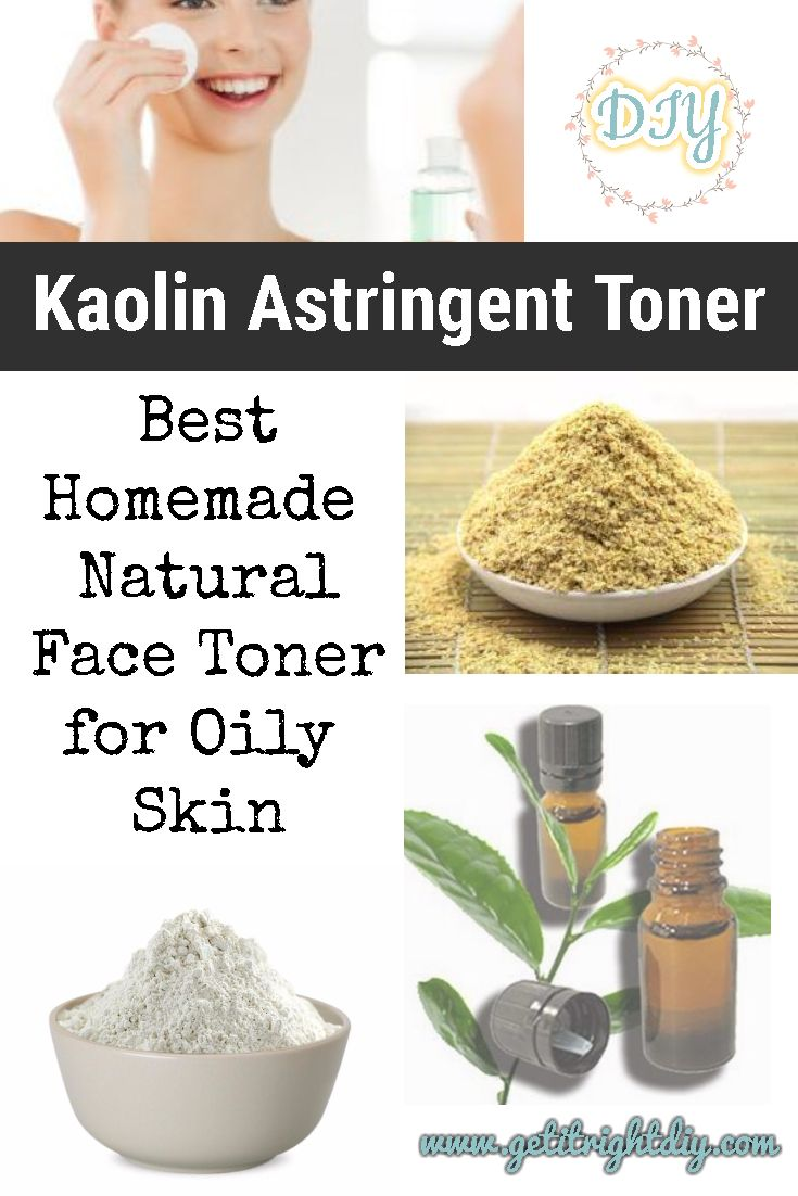 Make Yourself This Best Homemade Face Toner for Oily Skin  #homemadefacelotion
