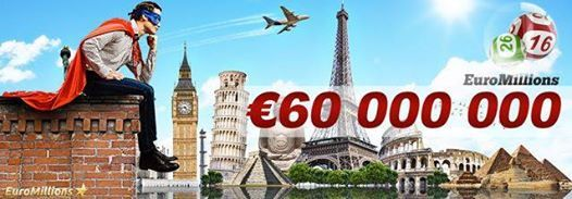 Even today you have the chance to win € 60,000,000 in the EuroMillions, luck, http://ads.playukinternet.com/tracking.php/text/3113/12626/3368003/1