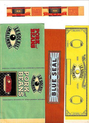 Vintage Tin Can Labels Free Vintage Printables Vintage