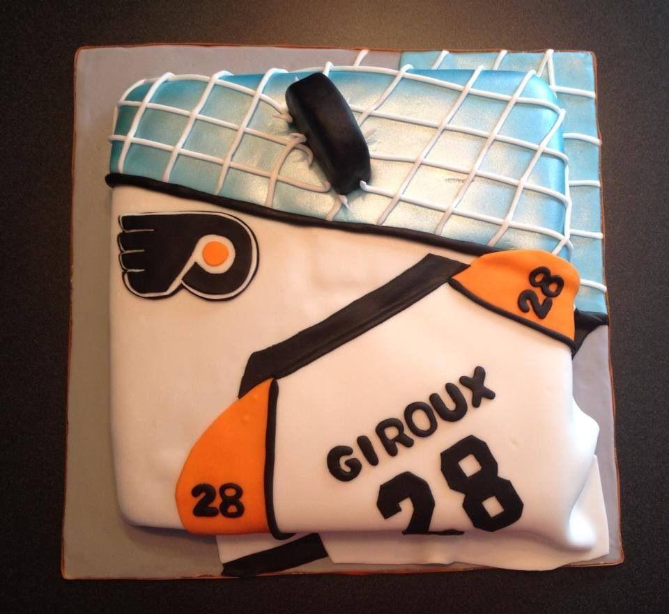 Philadelphia Flyers cake Stuff I decorated Pinterest