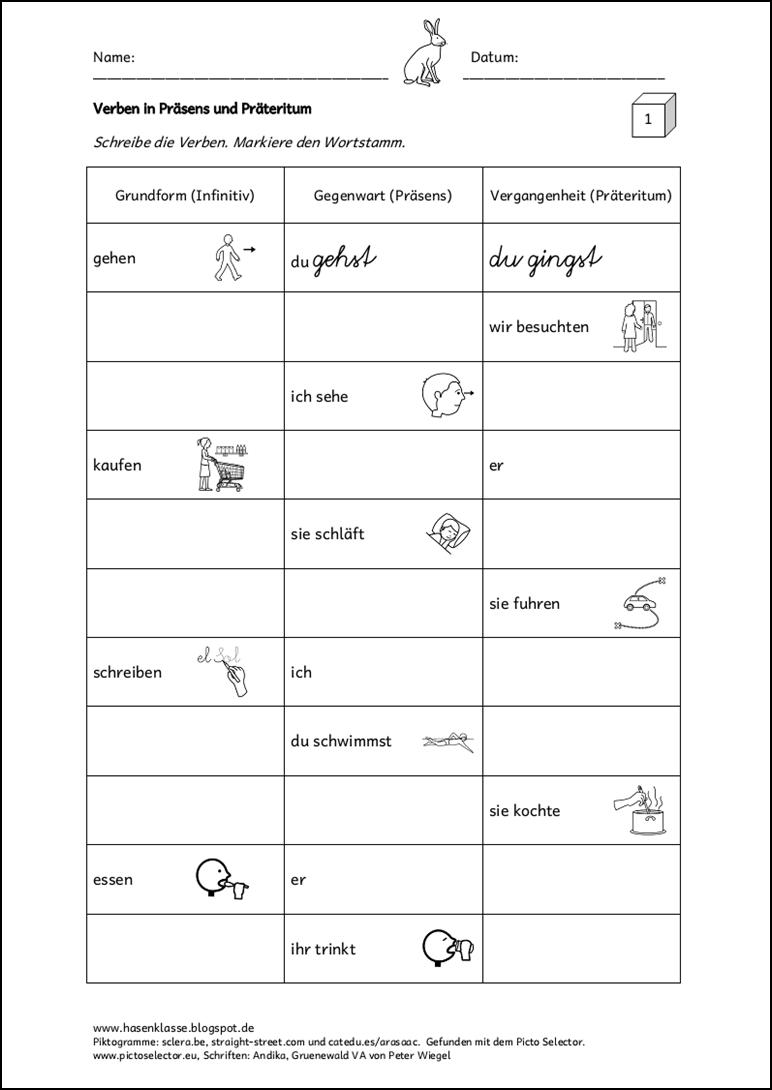 pin by marschia on edukacja pr teritum rechtschreibung und grammatik deutsch unterricht. Black Bedroom Furniture Sets. Home Design Ideas