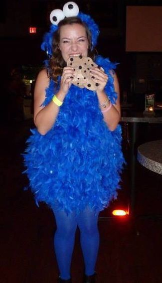 diy cookie monster costume pinterest kost me selber machen kr melmonster und kost m ideen. Black Bedroom Furniture Sets. Home Design Ideas