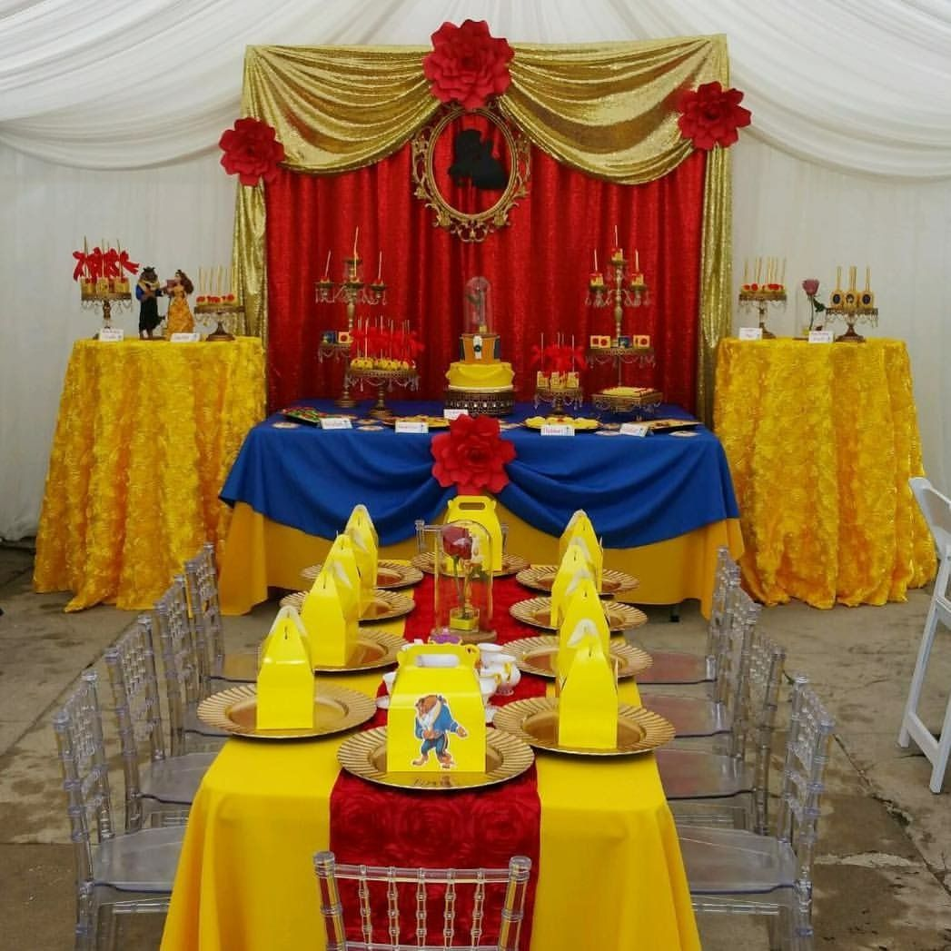 Southern Blue Celebrations Beauty And The Beast Party Ideas