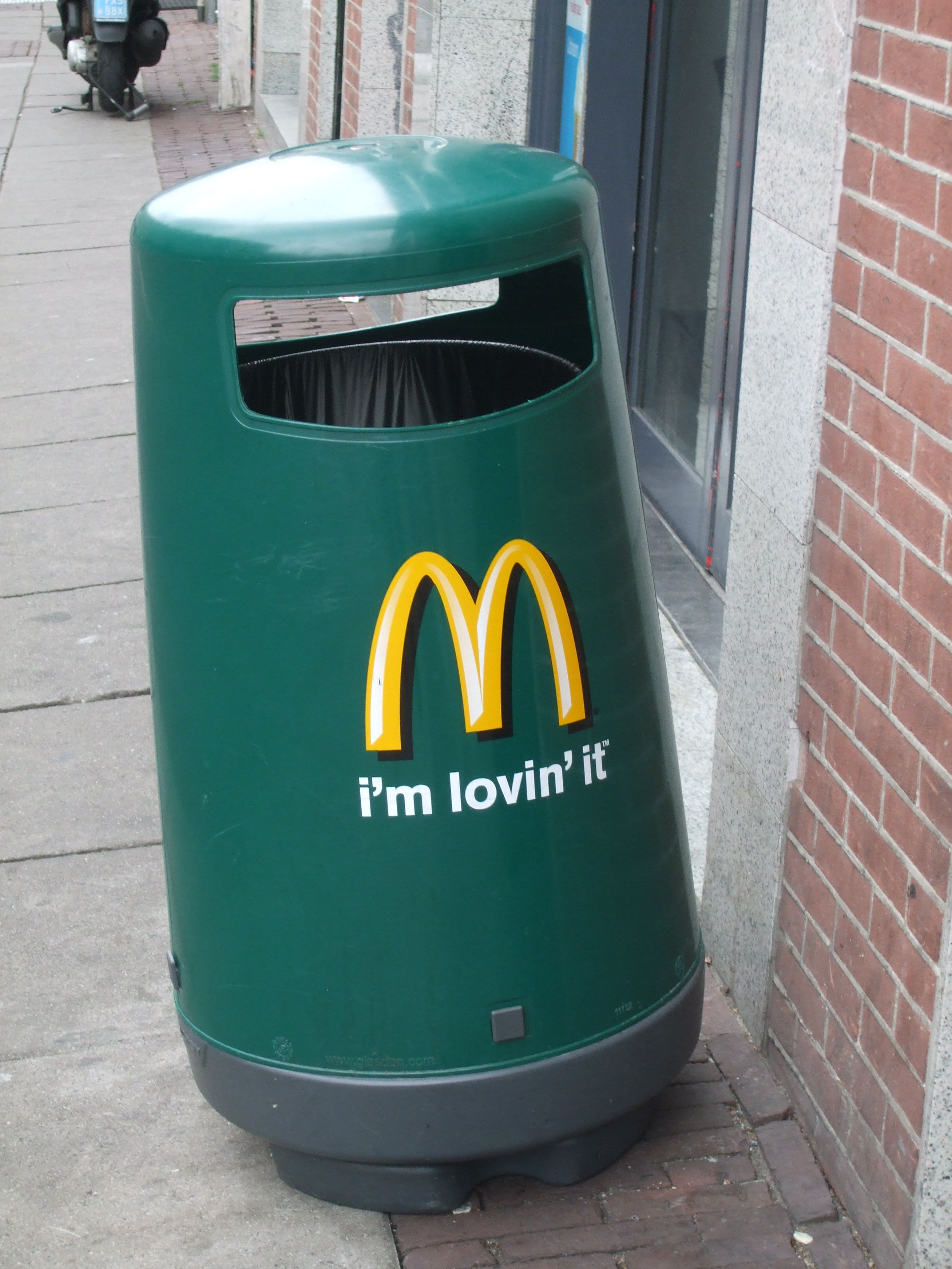 trash bin McDonalds | waste and waste bins | Pinterest | Trash bins