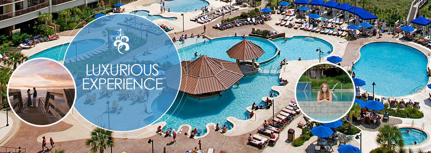 EXPERIENCE Beach resorts, Myrtle beach, North beach