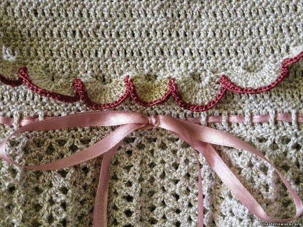 Patrones crochet de vestido de bebé | Avanzar, Patrones y Vestido de ...