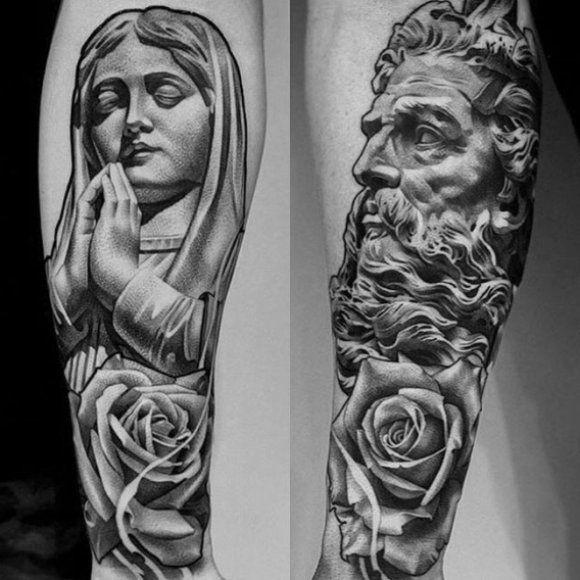 Te Tatuaże To Prawdziwe Dzieła Sztuki Bebzolcom Tattoo