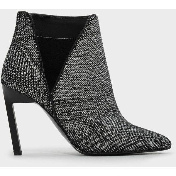 37e8a4b5dde2 Charles   Keith CUT OUT BOOTIE HEELS (2