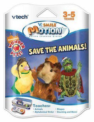 Vtech V Motion V Smile Wonder Pets Save The Animals Ages 3 5 Kids Learning Wonder Pets Educational Toys For Toddlers Vtech