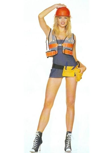 sexy construction girls image detail for sexy construction worker girl costume 4737