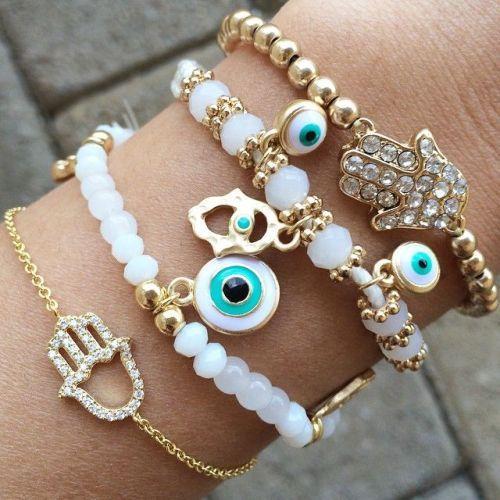 Evil Eye Beads Bracelets Jewelry Http Www Justtrendys