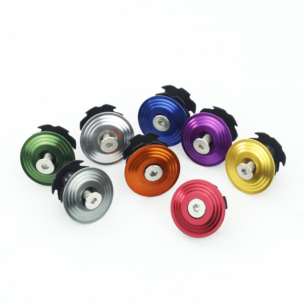 Bike Headset Star Nut Bicycle Stem Top Cap For Giant Od2 Over Drive 2 Steerer 31 8mm 1 1 4 Fork Bicycle Stems Stars Bicycle