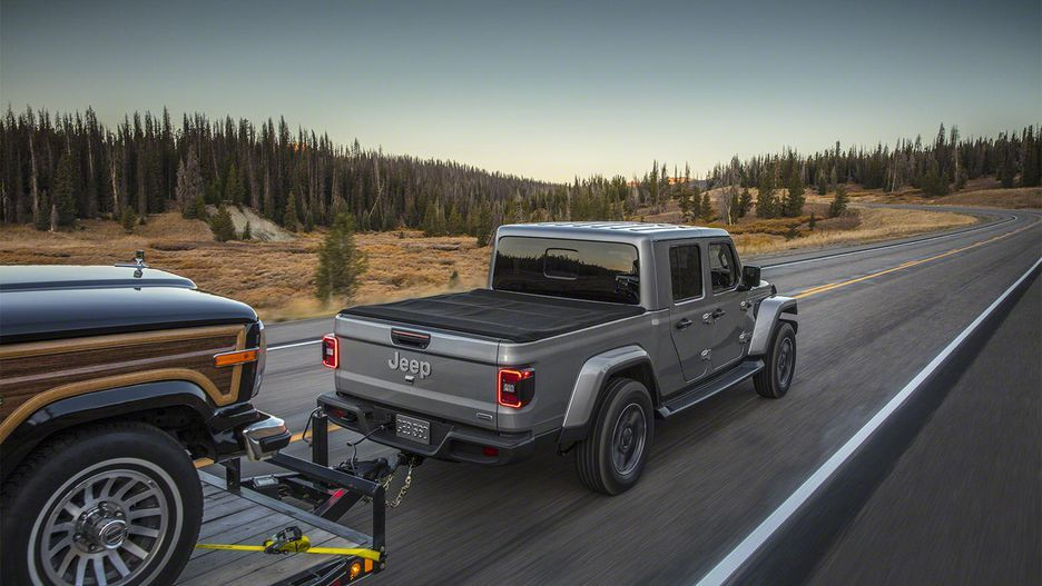 2020 Jeep Gladiator Offers Comfort And Capability Everywhere Jeep Gladiator Jeep Pickup Trucks