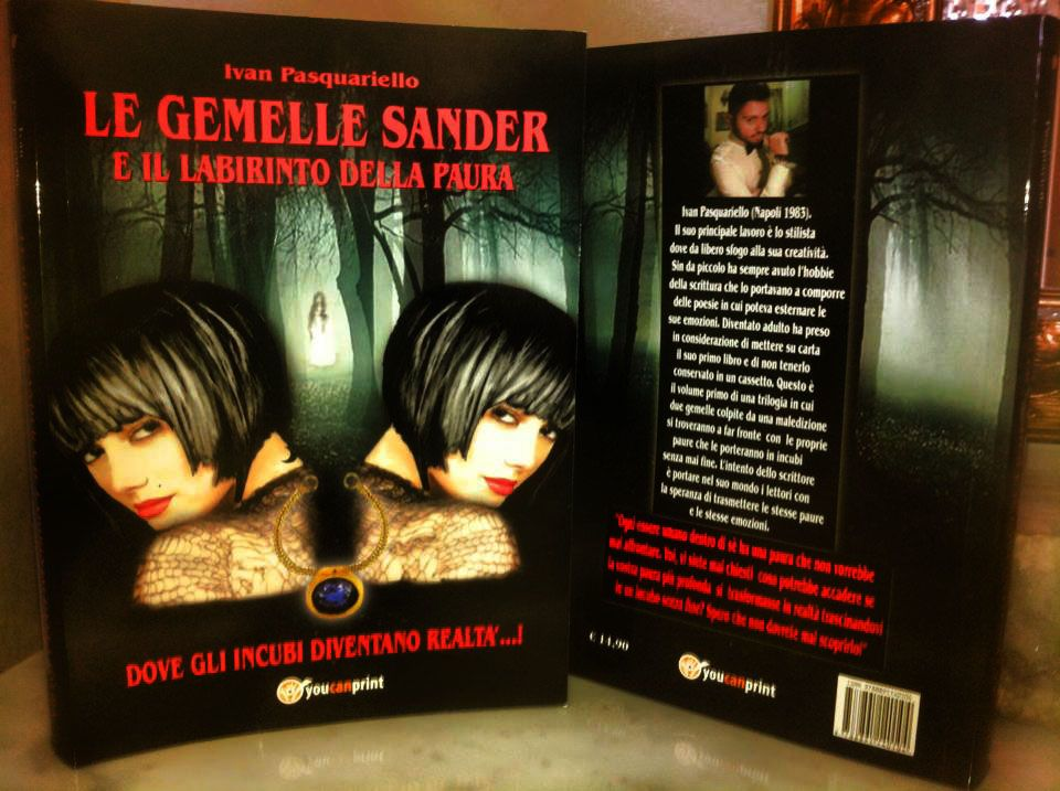 è il volume primo della mia saga fantasy-horror seguitemi su https://www.facebook.com/legemellesander