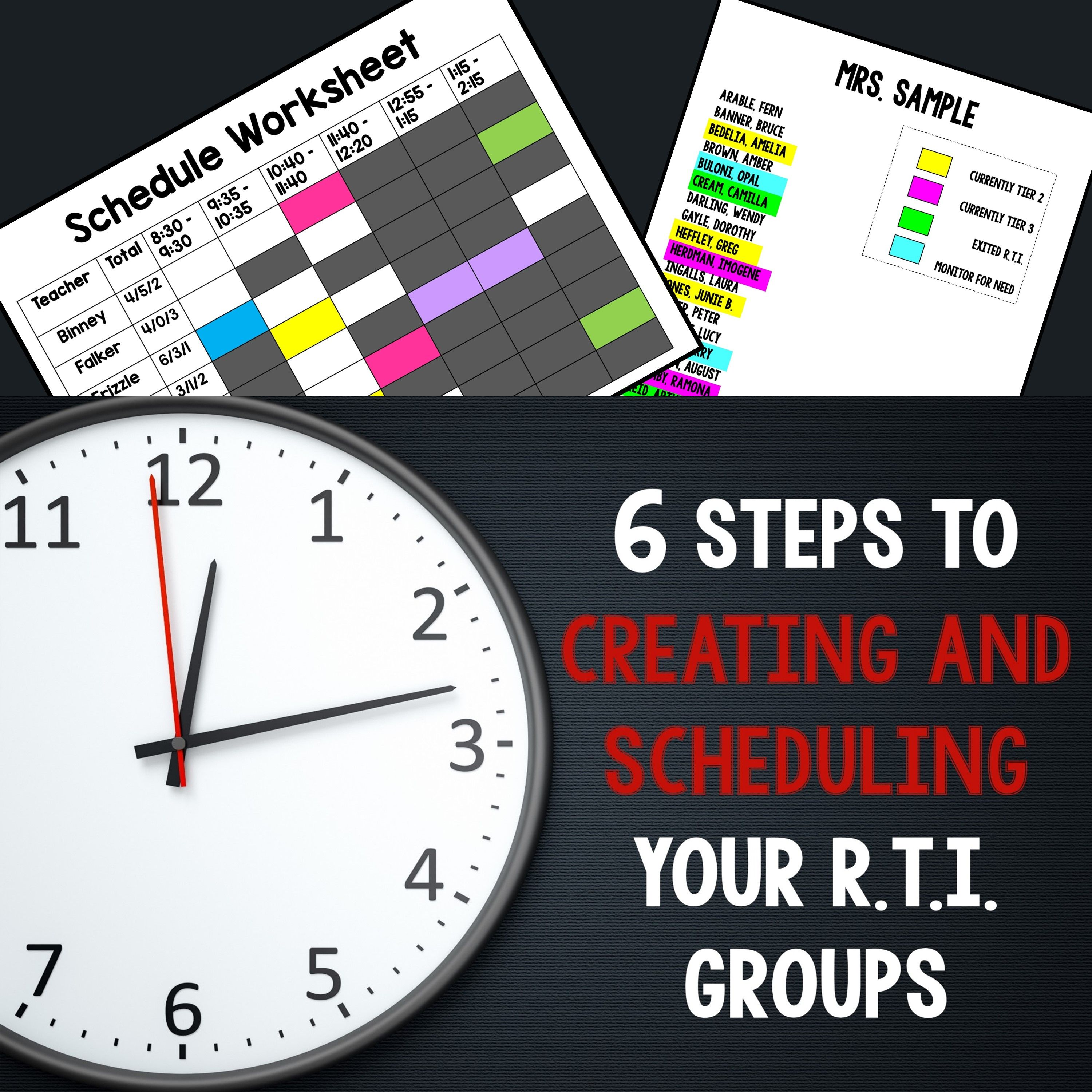 Step By Step Guide For Creating And Scheduling Rti Groups