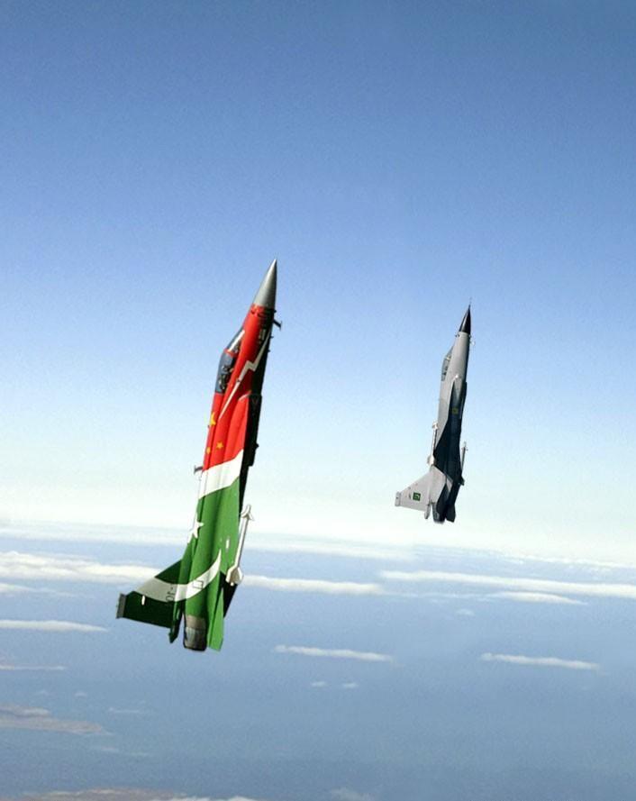 Developed by Pakistan and China: JF-17