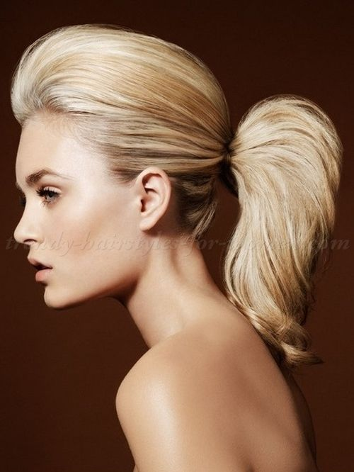 Ponytail Hairstyles Quiff Ponytail Hair Styles Long Hair Styles Extremely Long Hair
