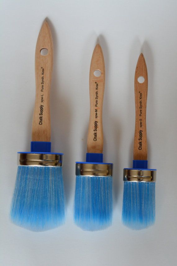Synthetic Chalk Paint Brush
