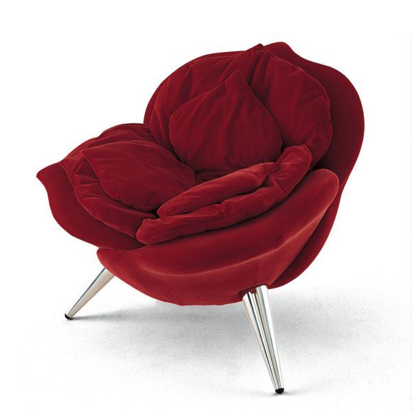 Edra - Rose Chair Red  Designer: Masanori Umeda (1990)