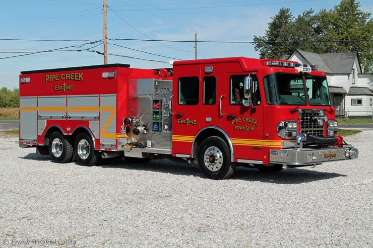 Indiana Fire Trucks Fire and EMS Apparatus Pictures in