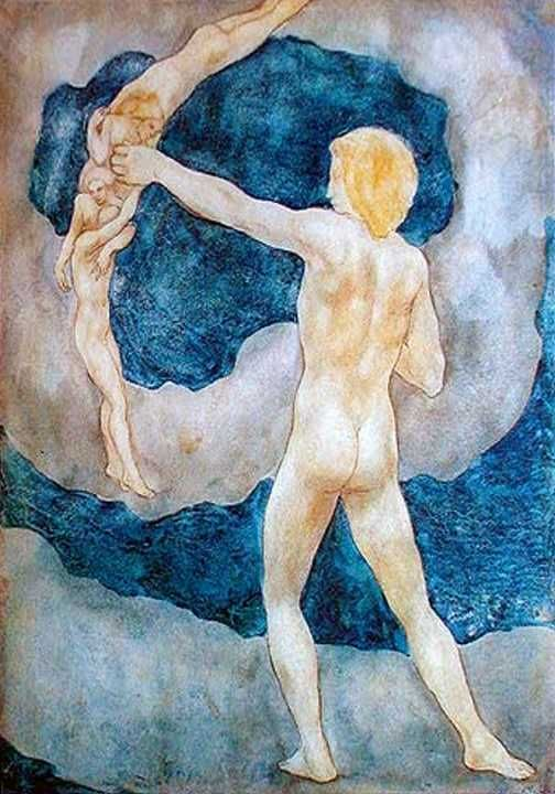 Image result for kahlil gibran paintings