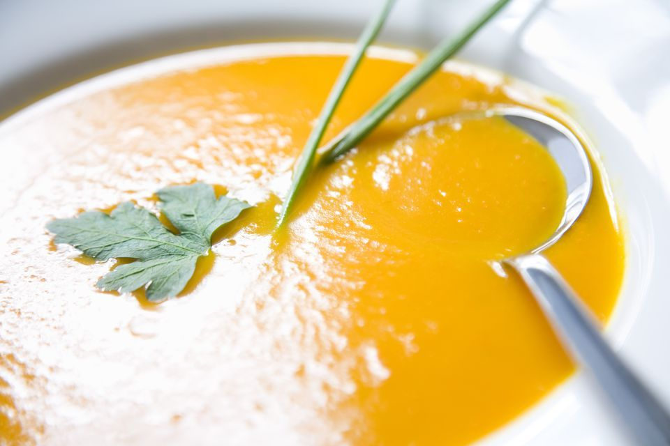 Try Creamy Pumpkin Soup As A Fall Dinner Starter Recipe In 2020 Pumpkin Soup Pumpkin Soup Recipe Portuguese Recipes