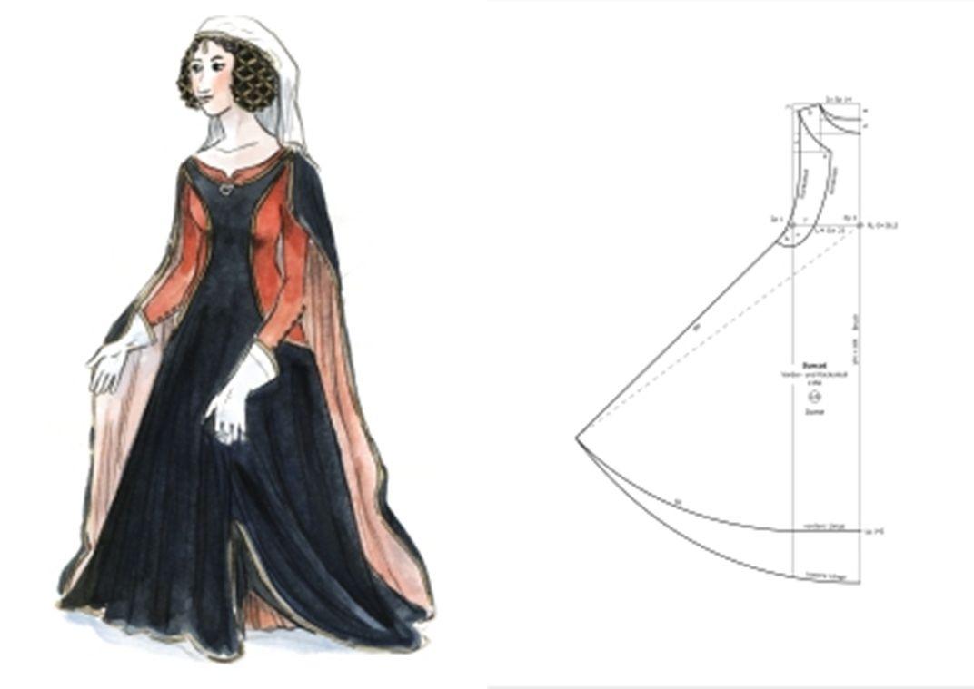 1350 Dame Surcot | Mittelalter Inspiration | Pinterest | Mittelalter ...