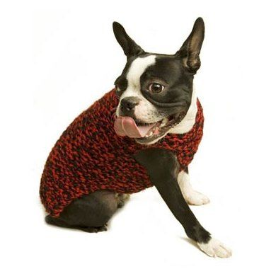 Need For Tweed Dog Sweater Lion Brand Wool Ease Thick Quick