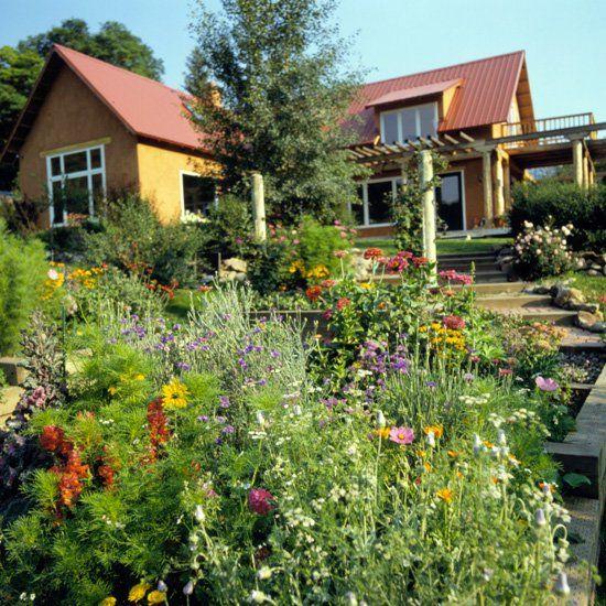 A Garden in the Mountains | Colorado landscaping, Backyard ... on Mountain Backyard Ideas id=52983