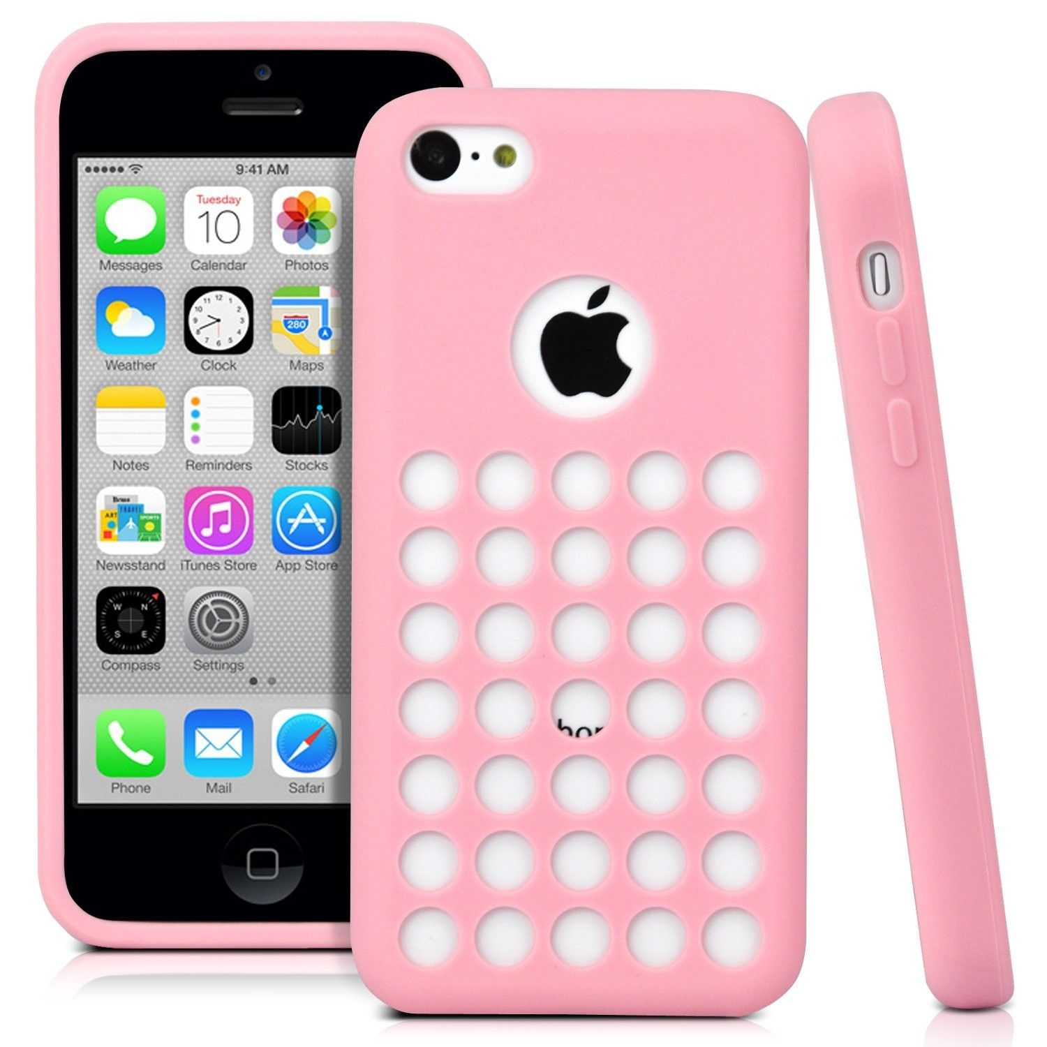 custodia silicone iphone 5c