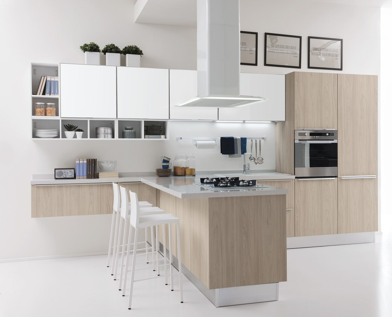 Pin su Cucine Moderne Creo Kitchens