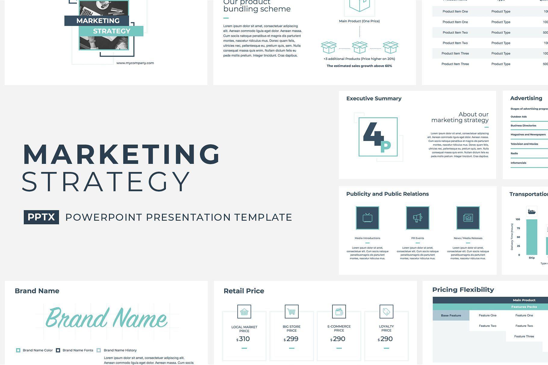 Marketing Strategy Powerpoint Marketing Strategy Presentation