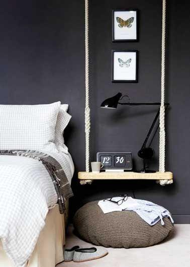 Un chevet déco original à faire soi-même pour la chambre | Deco ...