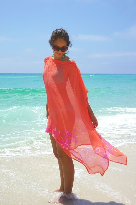 411eacd4e4 Silk Beach cover up luxury swimsuite cover up by YourBeachHouse