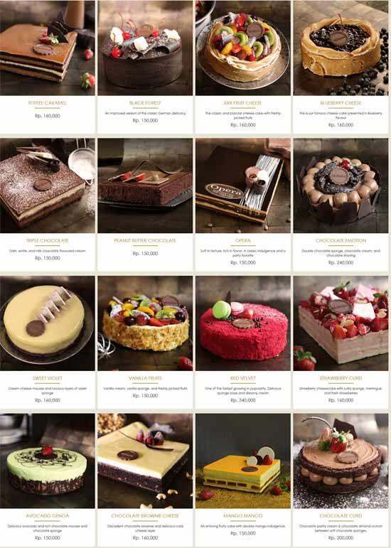 Harga Kue The Harvest Cakes Dan Cara Delivery Order Kue Kering Kue Restoran