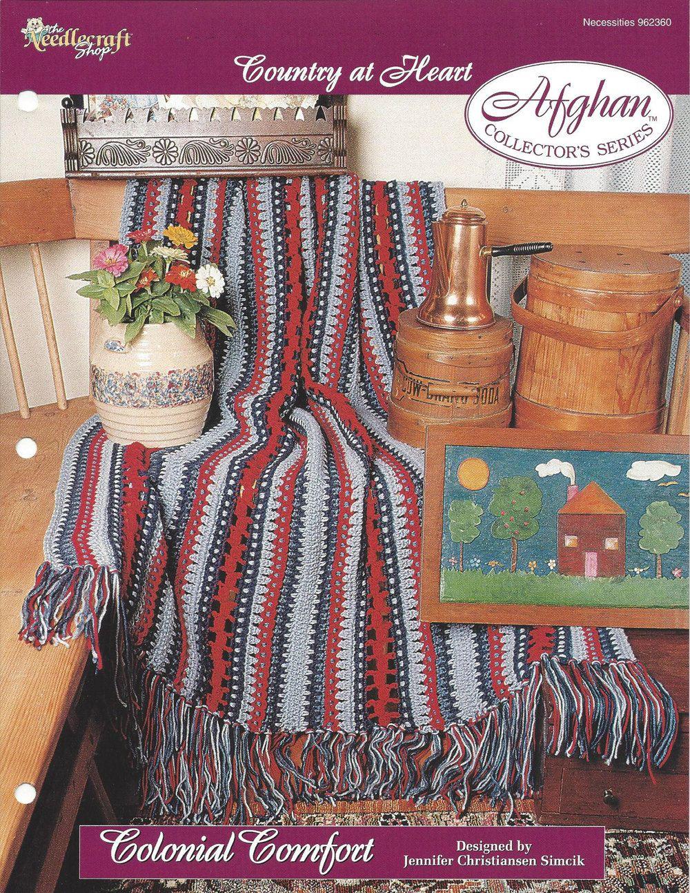 👱🏼 Crochê listra afegão Padrão Decoração do lar Malha itens decorativos Criações -  /   👱🏼 Crochet Stripe Afghan Pattern Home Décor  Knit Knacks Creations -