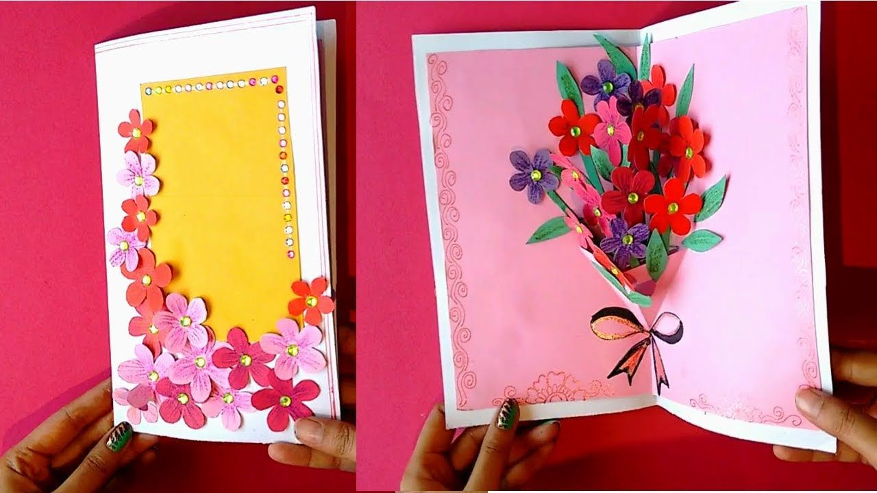 Diy Teacher S Day Card Handmade Teachers Day Card 3d Pop Up Card Youtube Handmade Teachers Day Cards Happy Teachers Day Card Teachers Day Card