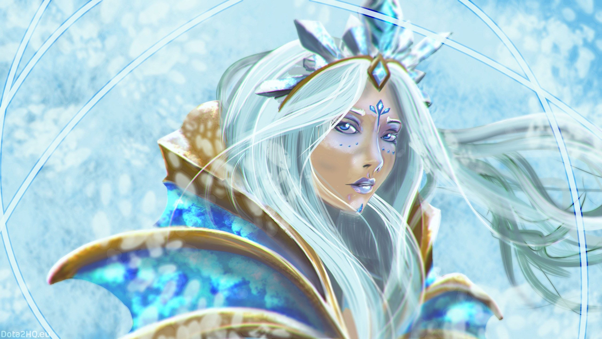 2560x1440 Crystal Maiden Dota 2 Image Wallpapers And Backgronds