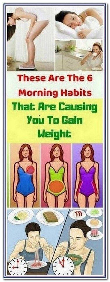 6 MORNING HABITS THAT CAUSE WEIGHT GAIN | 172  health and fitness