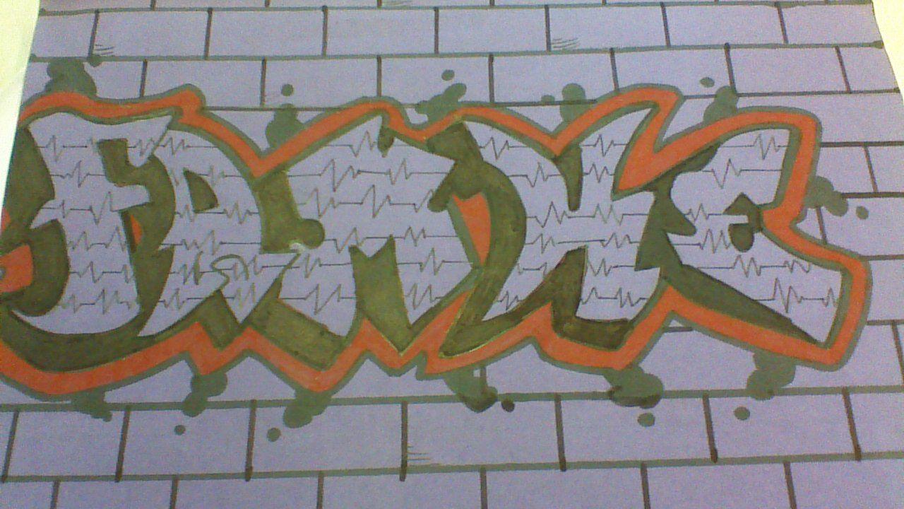 graffiti naam tekenen graffiti tekenen knutselen