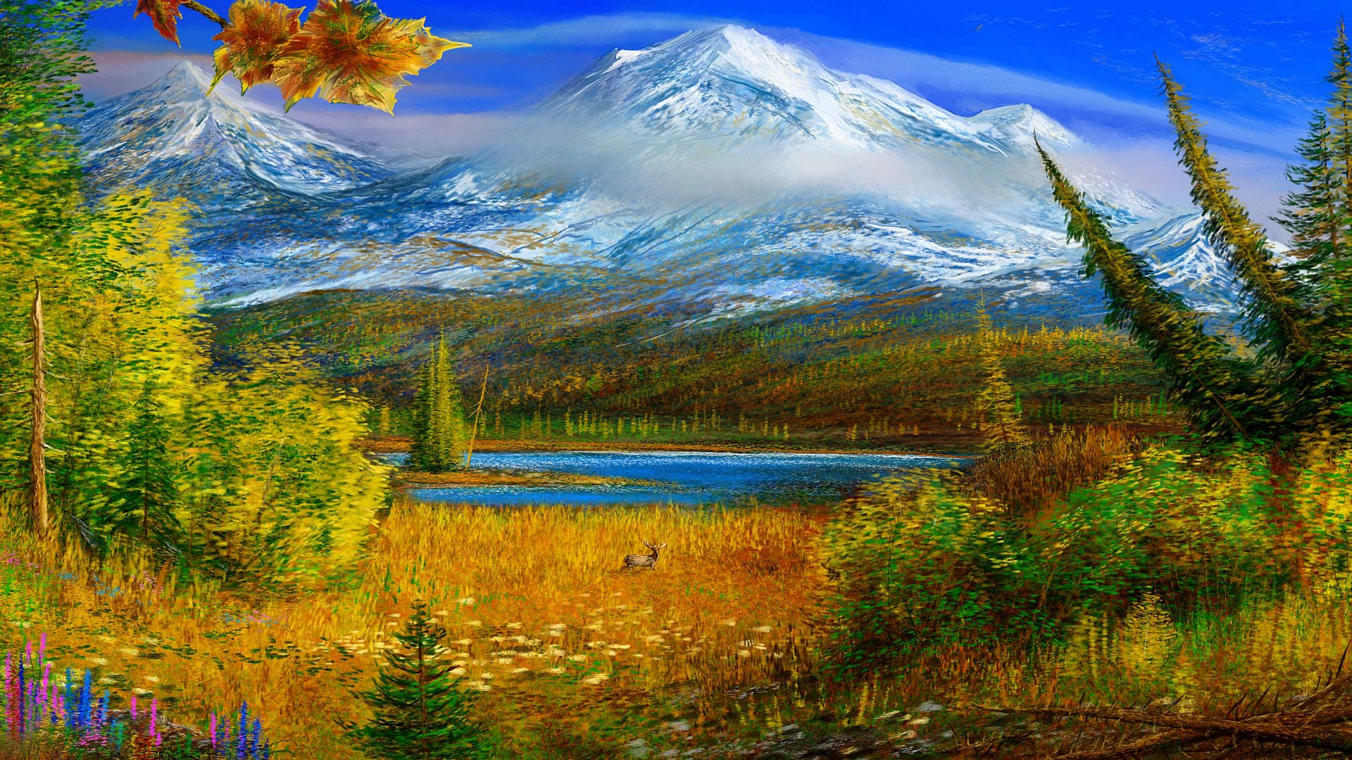 Awesome Paintings Landscape