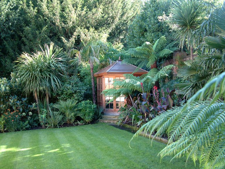 Image Result For Small Exotic Garden Ideas Uk Outside Space
